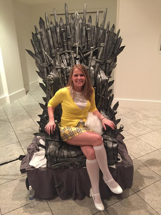Dragon Con Iron Throne Cher Horowitz Cosplay
