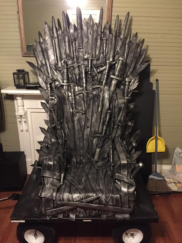 Dragon Con Iron Throne