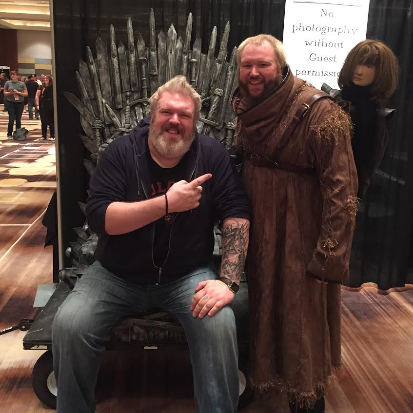 Dragon Con Iron Thron Kristian Nairn Hodor Cosplay