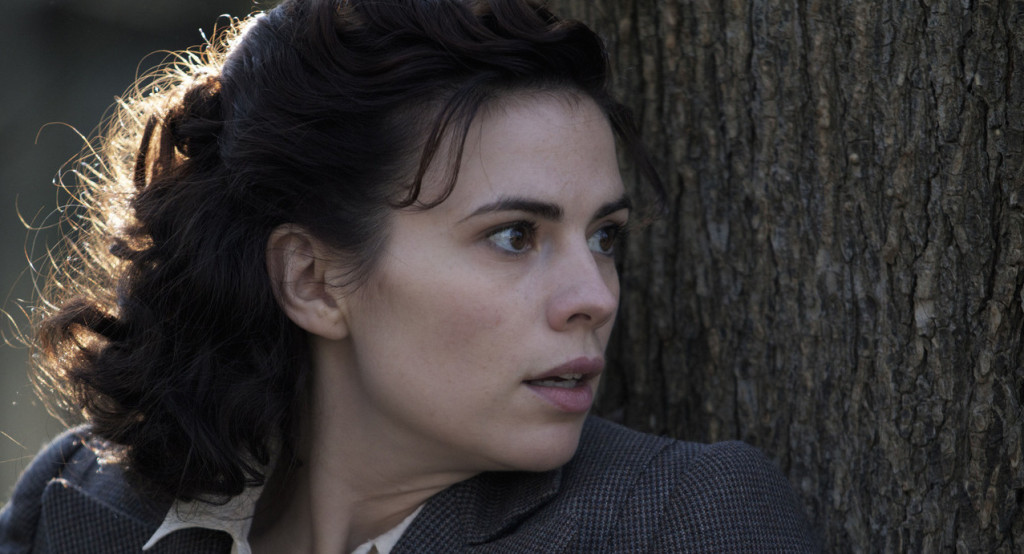 Programme Name: Restless - TX: 27/12/2012 - Episode: n/a (No. 1) - Embargoed for publication until: 08/12/2012 - Picture Shows: Eva Delectorskaya (HAYLEY ATWELL) - (C) Endor Productions - Photographer: Ilse Kitshoff