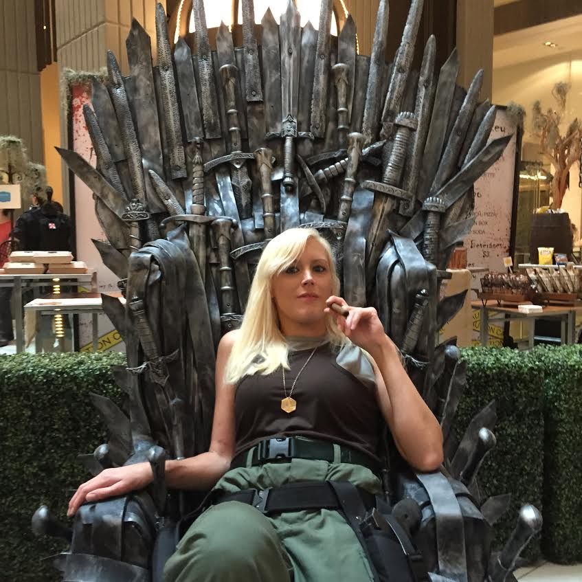 Dragon Con Iron Throne Starbuck Cosplay