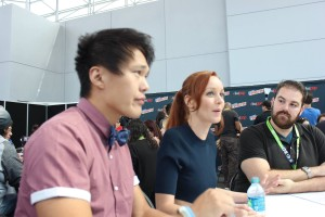 John Kim & Lindy Booth