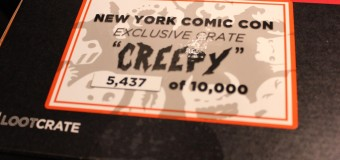What's in the Box?! LootCrate at NYCC