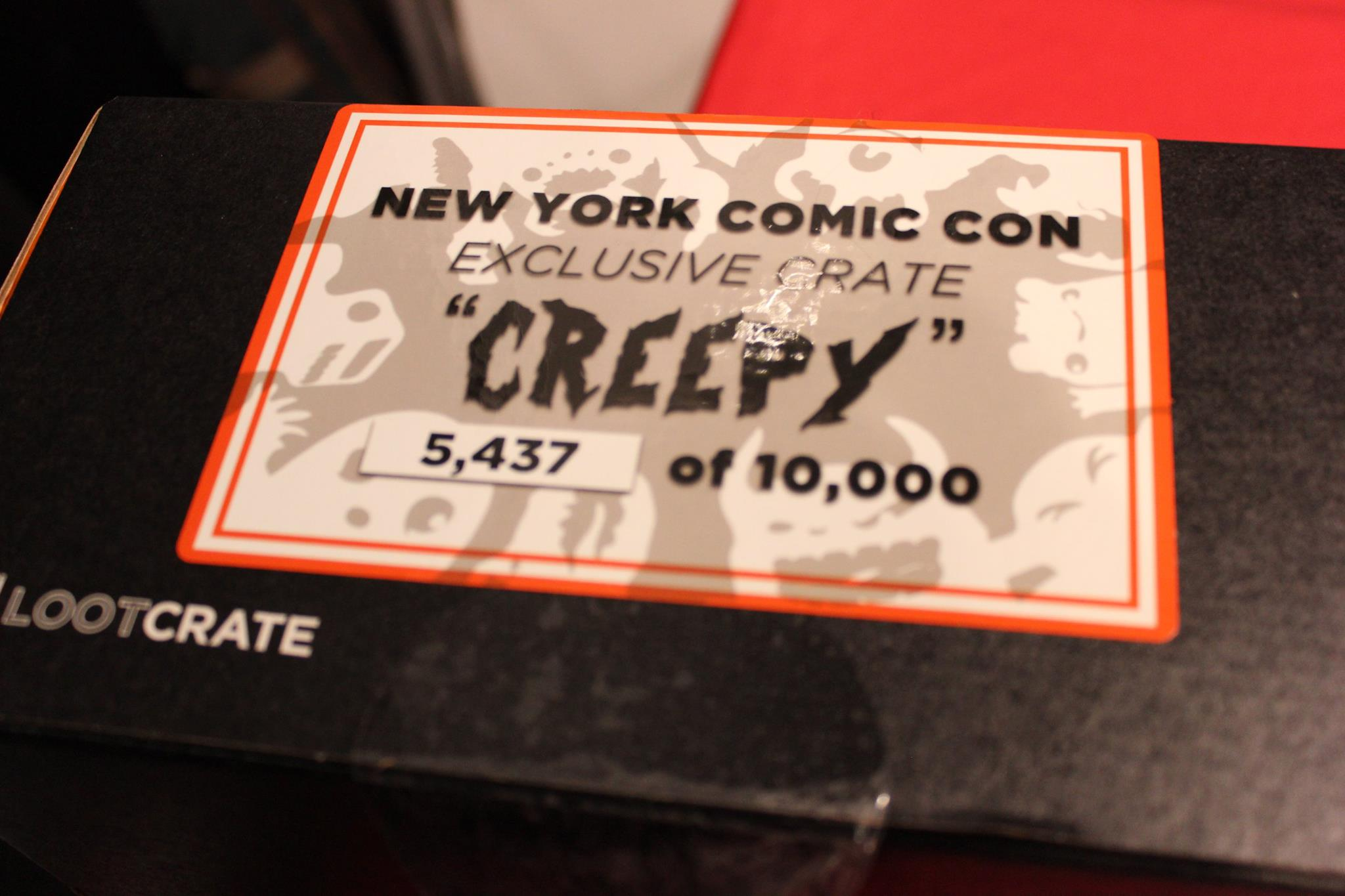 LootCrate NYCC 1