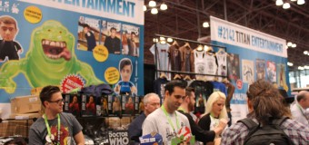 The Brits Have the Comic Con: Titan Entertainment at NYCC