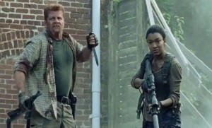 Walking Dead Abraham Ford Sasha Williams