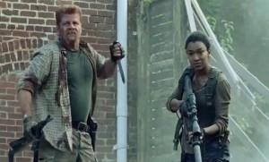 Walking Dead Abraham Ford Sasha Williams