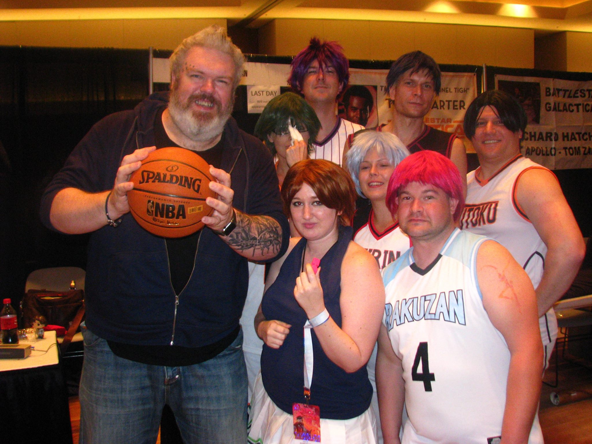 Convention Round-Up Kristian Nairn Dragon Con Kuroko no Basket
