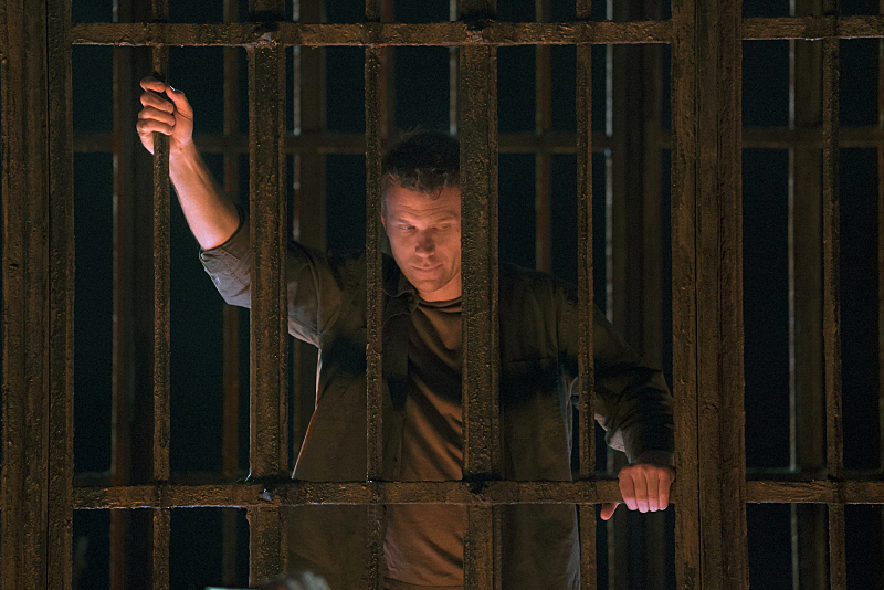 """Supernatural -- """"O Brother Where Art Thou?"""" -- Image SN1109A_0286.jpg -- Pictured: Mark Pellegrino as Lucifer -- Photo: Katie Yu/The CW -- © 2015 The CW Network, LLC. All Rights Reserved."""