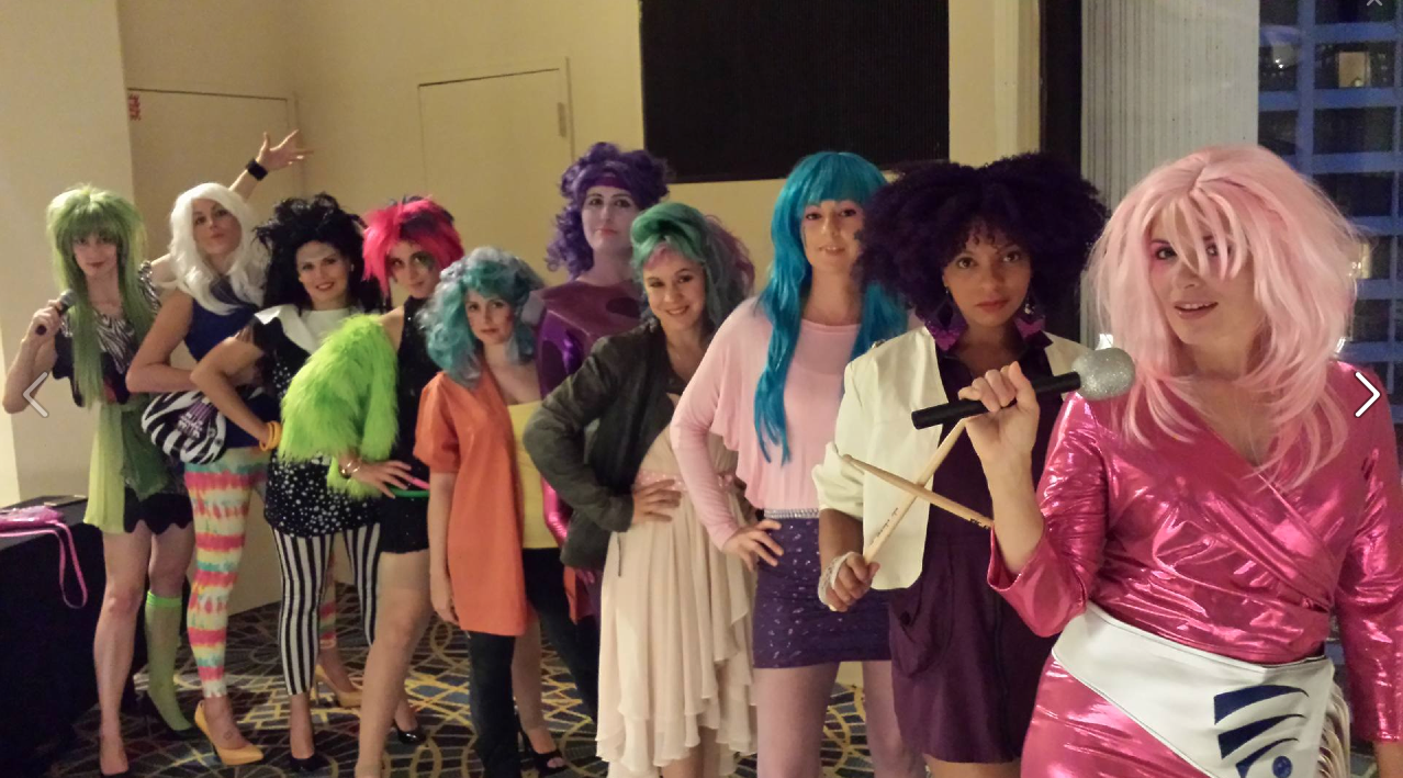 Convention Round-Up Dragon Con Jem and the Holograms Cosplay