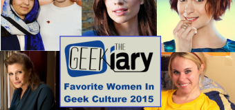 Favorite Women in Geek Culture 2015