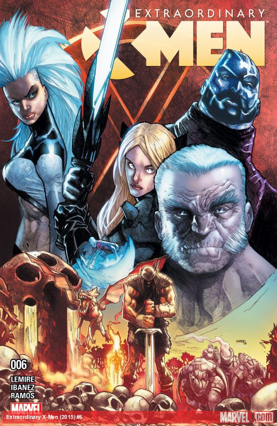 Title image for Extraordinary X-Men #6