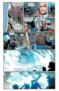 Storm seen Prof. X in Extraordinary X-Men (2015-) 005-018