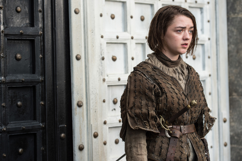 Arya in Game of Thrones