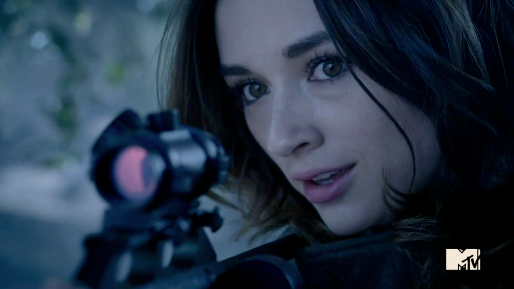 Crystal Reed as Allison Argent