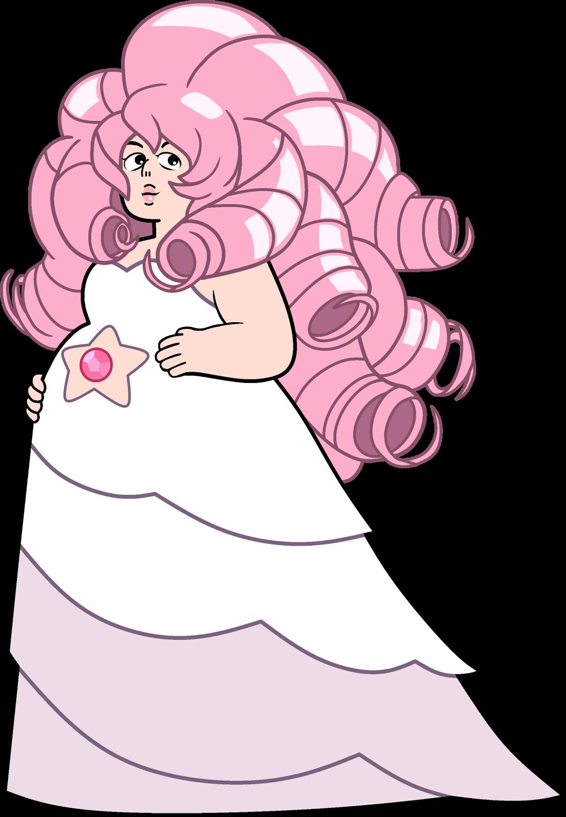 Rose Quartz Steven Universe Hair Template: Steven Universe: Rocks That Make You Cry