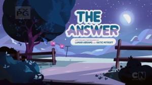 Steven Universe The Answer