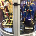 Harley Quinn and Batgirl anime style figures