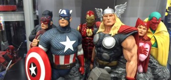 "DC, Marvel, and ""the best pillow fight you've ever had"": Factory Entertainment at Toy Fair 2016"