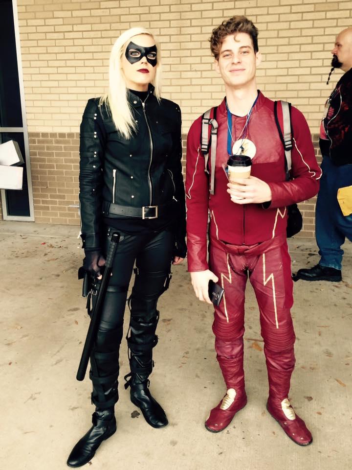 Con Nooga 2016 Black Canary Laurel Lance The Flash Arrow Cosplay