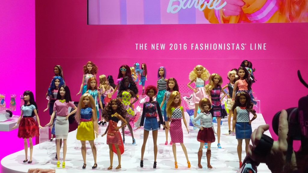 Mattel Barbie Fashionistas