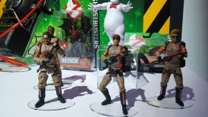 Mattel Ghostbusters action figures