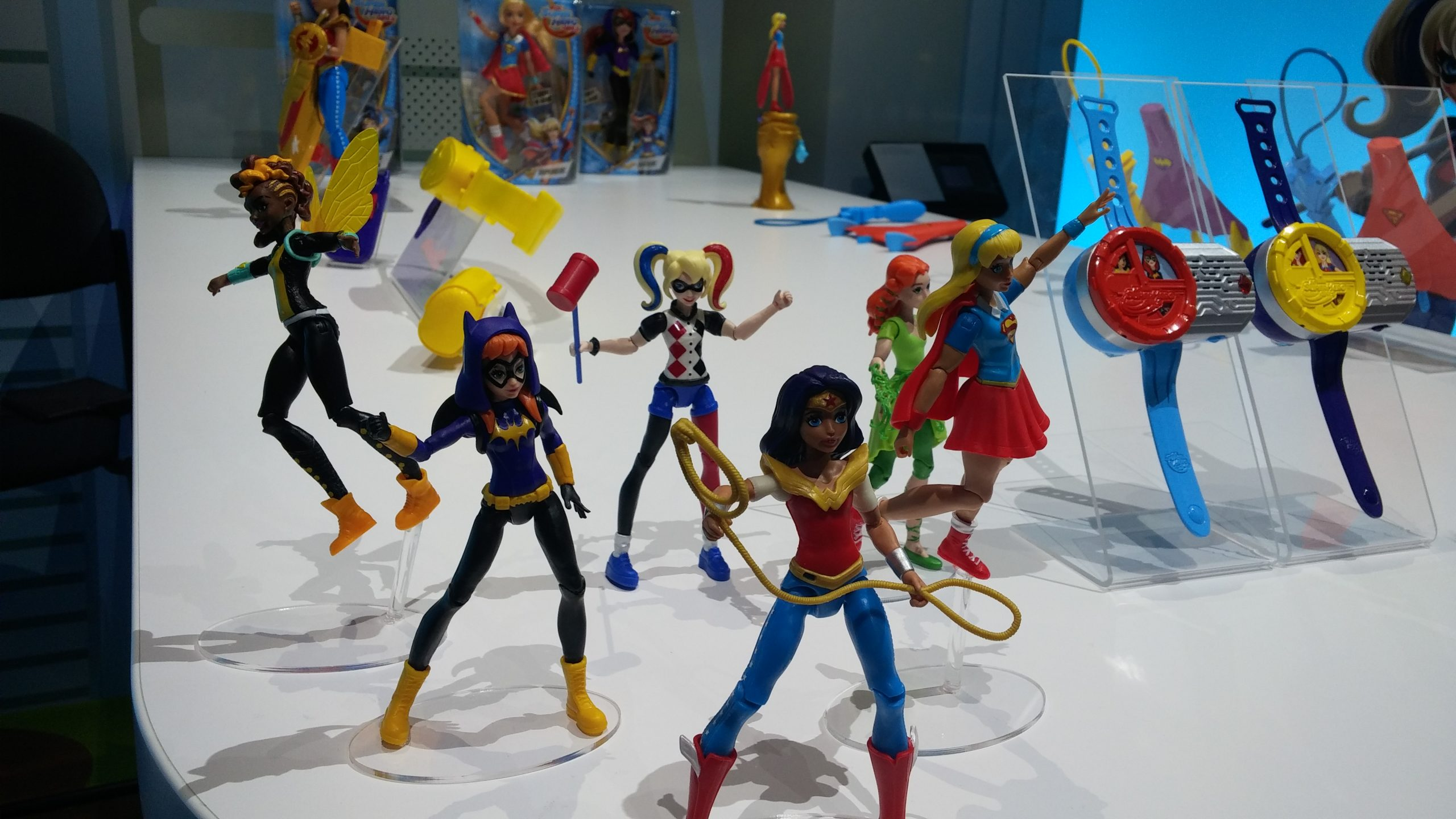 Girl Toy Figures : A brand new barbie mattel at toy fair the geekiary