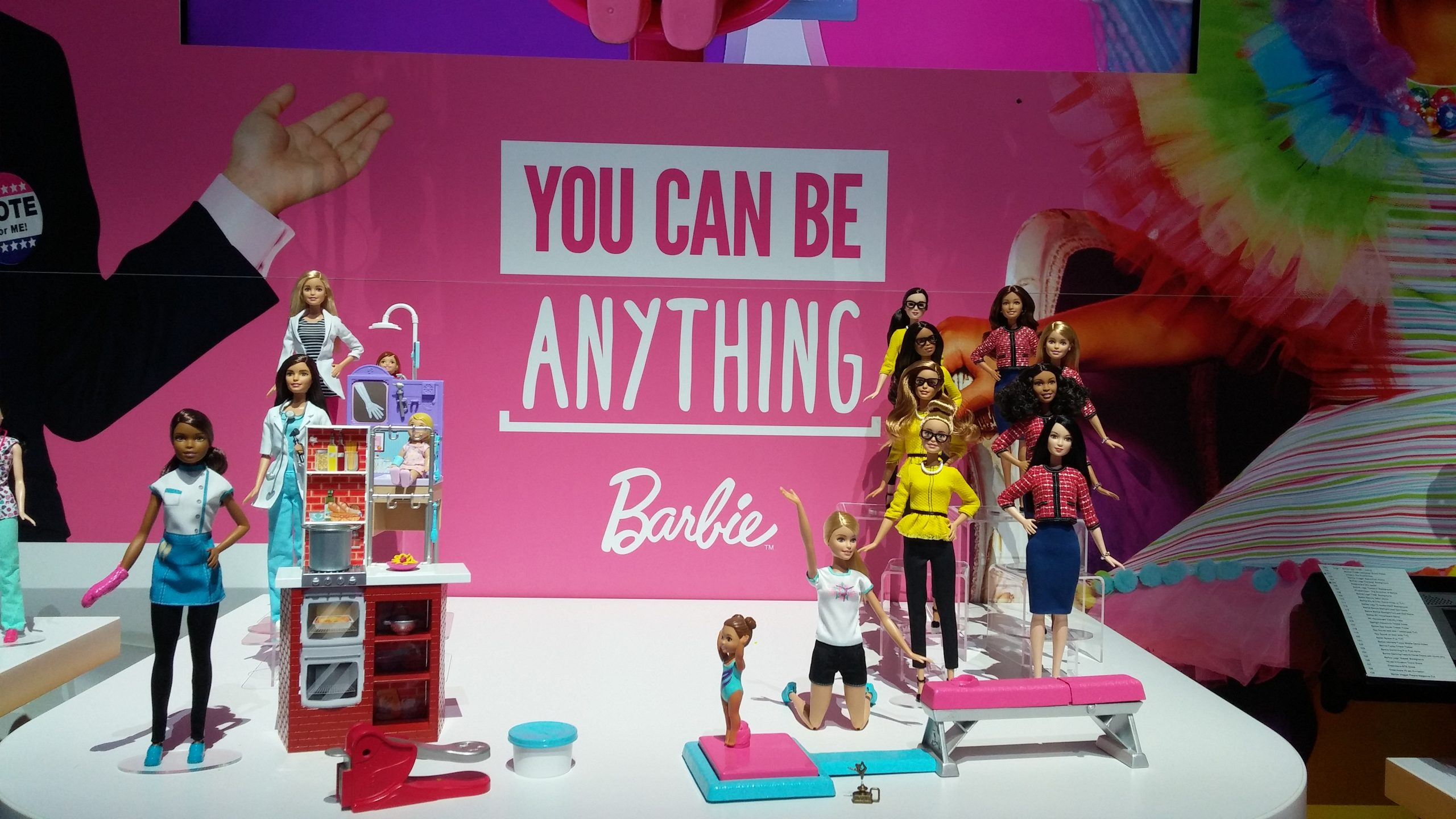 A Brand New Barbie Mattel at Toy Fair 2016 The Geekiary