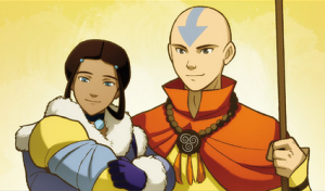 fictional relationships katara aang