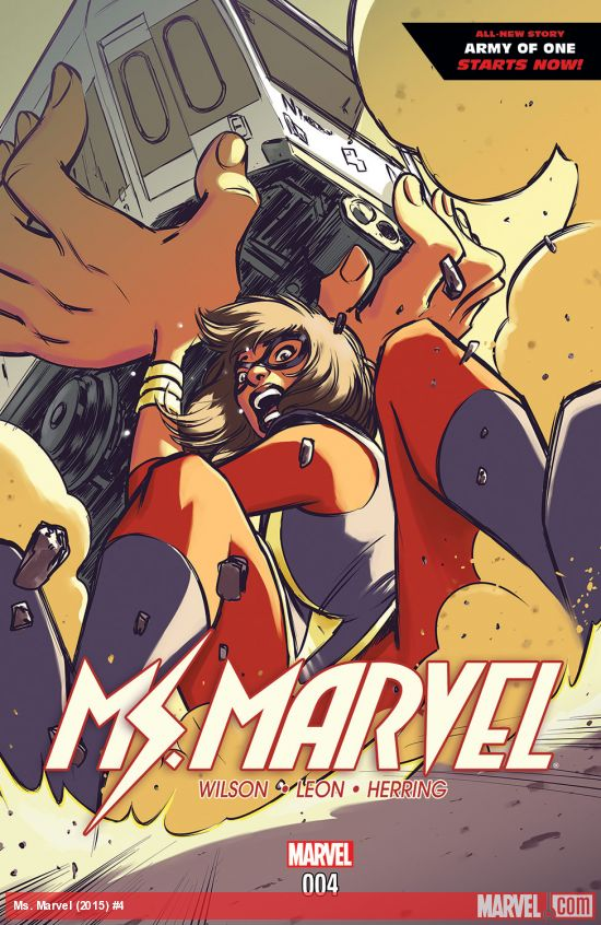 Ms. Marvel Issue 4 title