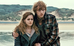 fictional relationships ron weasley hermione granger