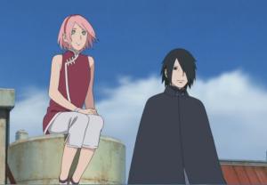 Sakura Haruno and Sasuke Uchiha