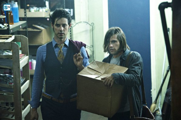 The Magicians 1x03 Eliot & Quentin