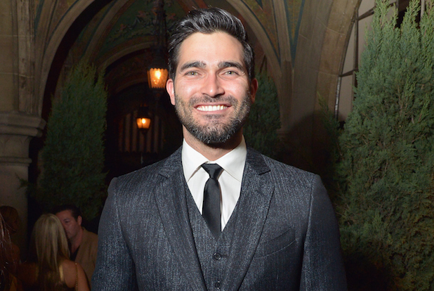 "LOS ANGELES, CA - FEBRUARY 23: Actor Tyler Hoechlin attends Vanity Fair and FIAT Toast To ""Young Hollywood"" at Chateau Marmont on February 23, 2016 in Los Angeles, California. (Photo by Charley Gallay/Getty Images for Vanity Fair)"