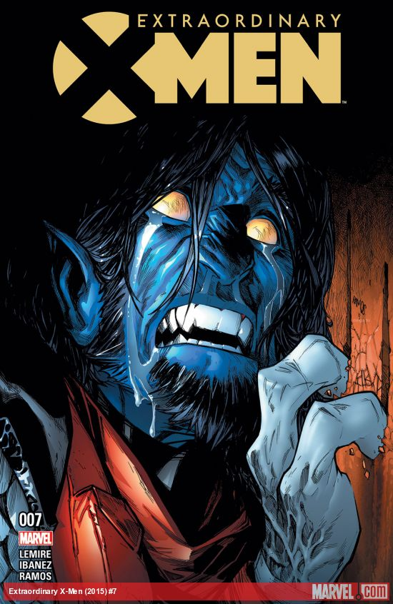 Extraordinary X-Men issue 7 title