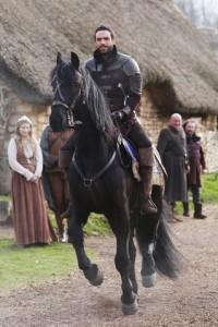 Galavant on a horse
