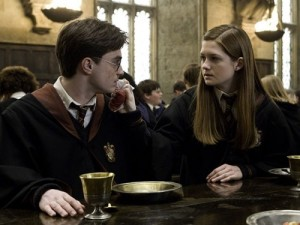 fictional relationshis harry potter ginny weasley