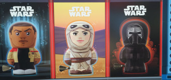 Rey, Phasma, and other heroes in tin: Schylling Toys and Star Wars at Toy Fair