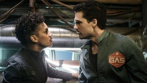 The Expanse 1x09, Naomi & Holden