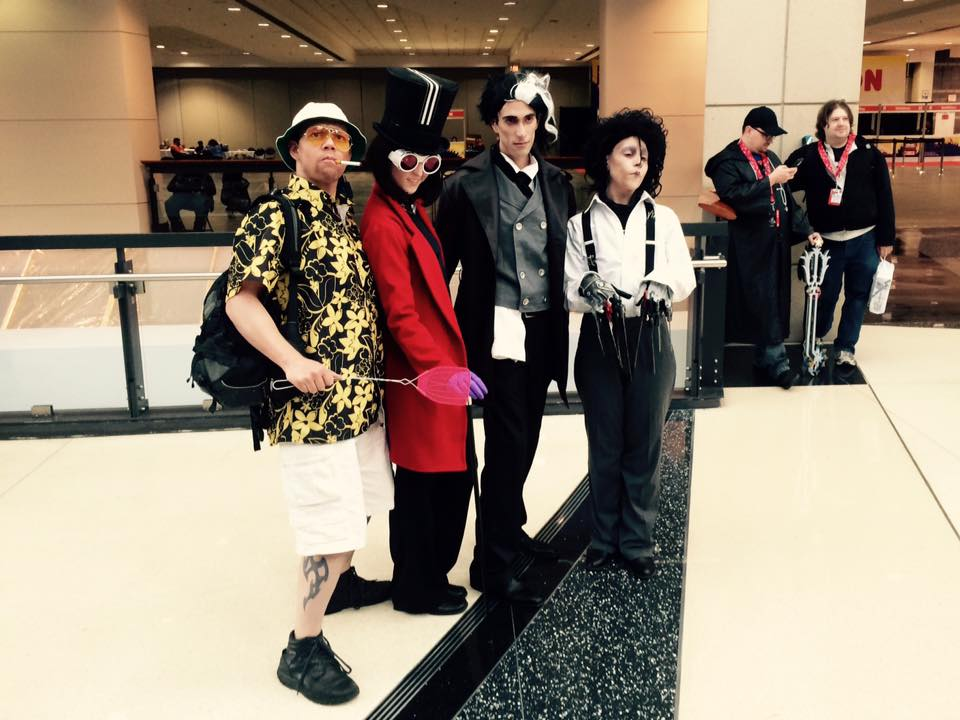 C2E2 Cosplay Johnny Depp