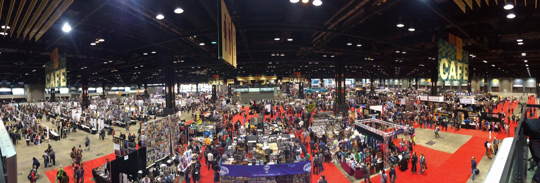 C2E2 Cosplay Exhibit Hall