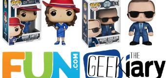 Agent Carter & Agent Coulson Pop! Doll Giveaway