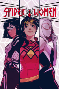 Spider-Women #1, variant cover by Stacey Lee