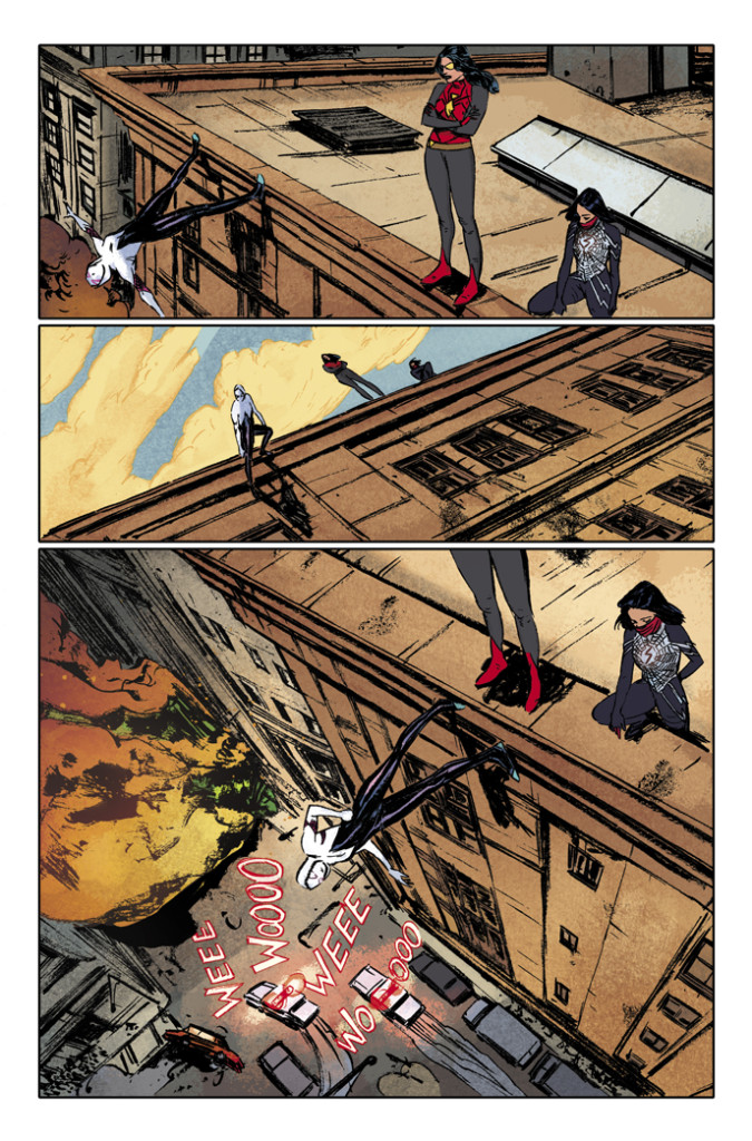 Spider-Women #1, art by Vanesa Del Rey