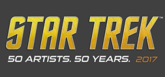 """Star Trek: 50 Artists. 50 Years"" to Debut at San Diego Comic-Con"