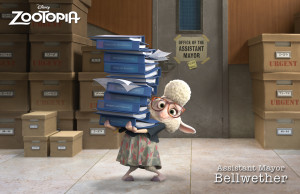 ZOOTOPIA assistant mayor bellweather