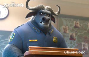 ZOOTOPIA chief bogo