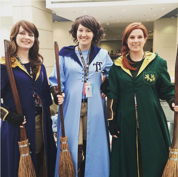 C2E2 Cosplay Harry Potter Quidditch