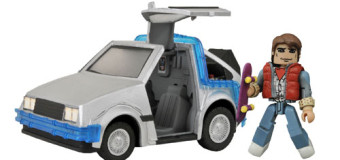 """Back in Time: Diamond Select Toys New """"Back to the Future"""" Minimates"""