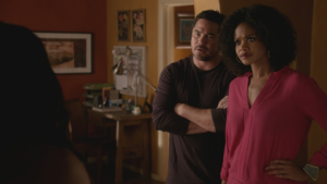 Sloane and Pete in Hit the Floor exclusive clip season three